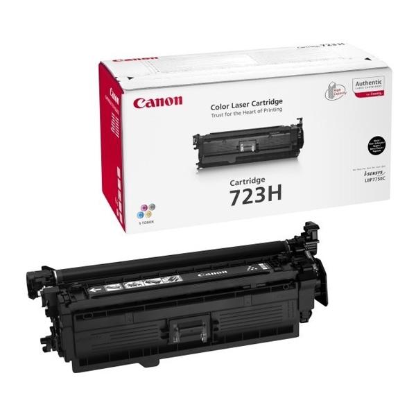 CANON LBP7750 BLK TNR CRTR HC 723 (10k) (2645B002) (CAN-723HBK)