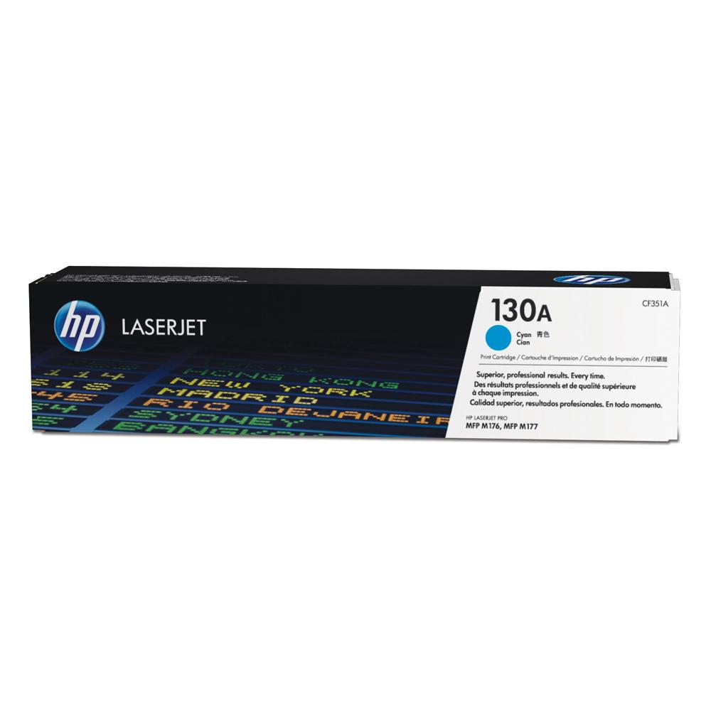 HP Toner 130A LJ PRO M176/177 Cyan (CF351A) (HPCF351A)