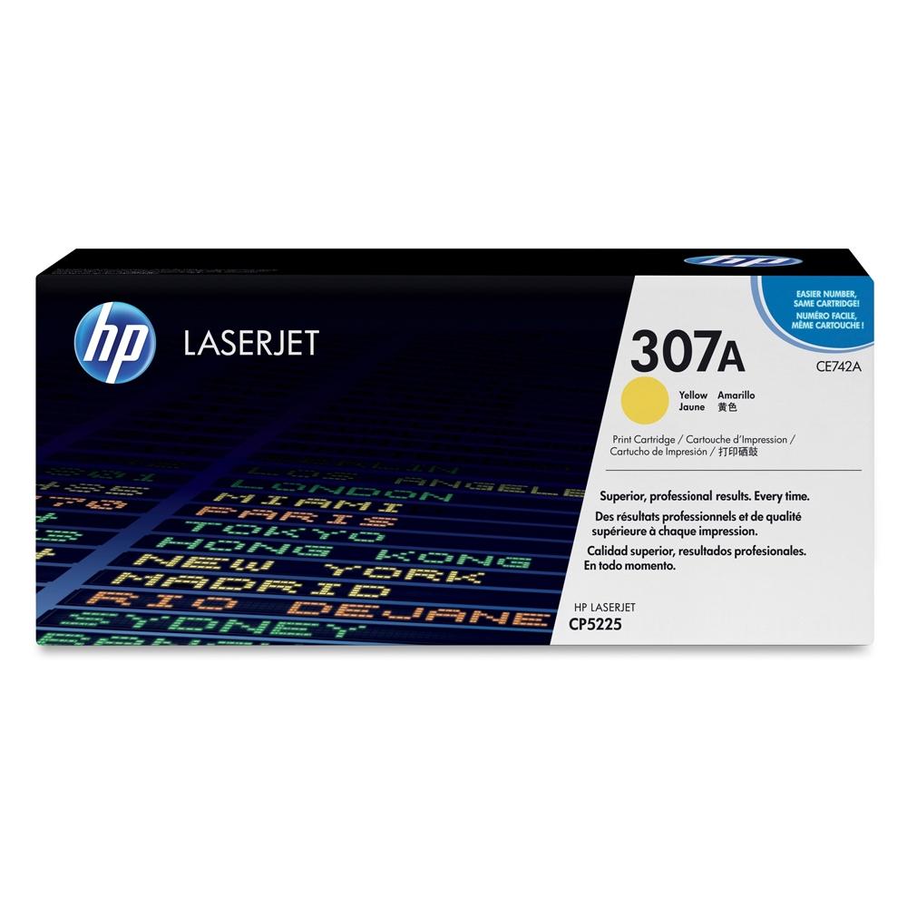 HP LaserJet CP5225 Yellow Toner (CE742A) (HPCE742A)