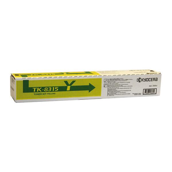 Kyocera TK-8315Y Yellow Toner (TK-8315Y) (KYOTK8315Y)
