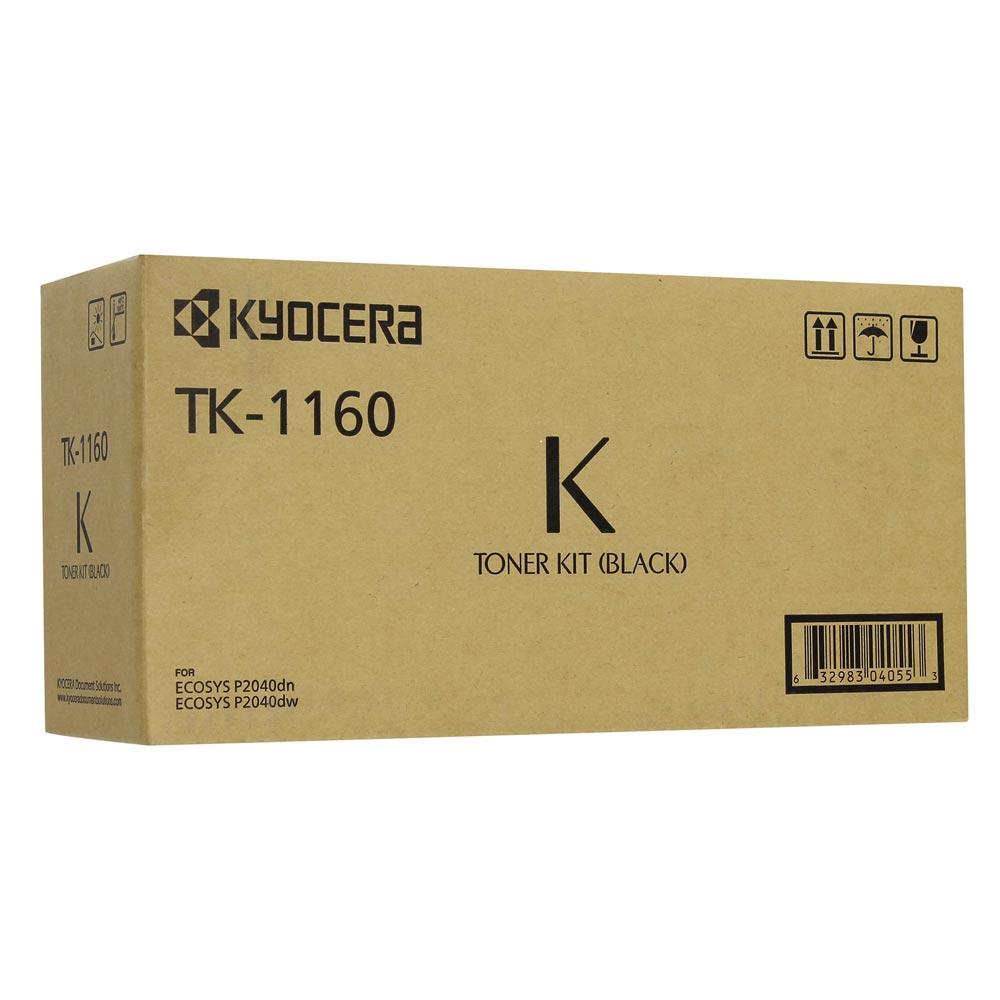 KYOCERA TK-1160 TNR CRTR BLK (7.2k) (TK-1160) (KYOTK1160)