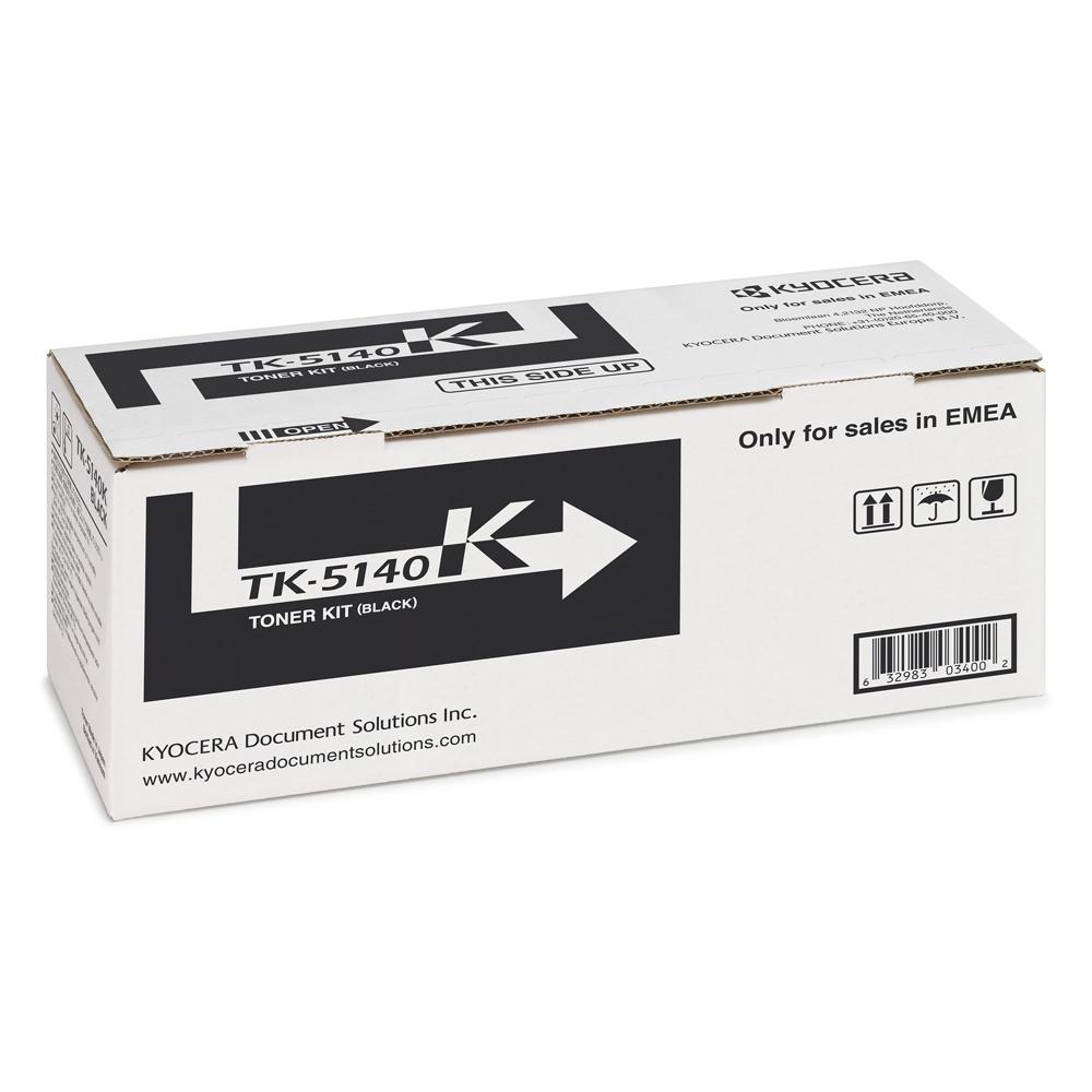 KYOCERA ECOSYS M6030/M6530/P6130 TNR BLACK (7k) (TK-5140K) (KYOTK5140K)