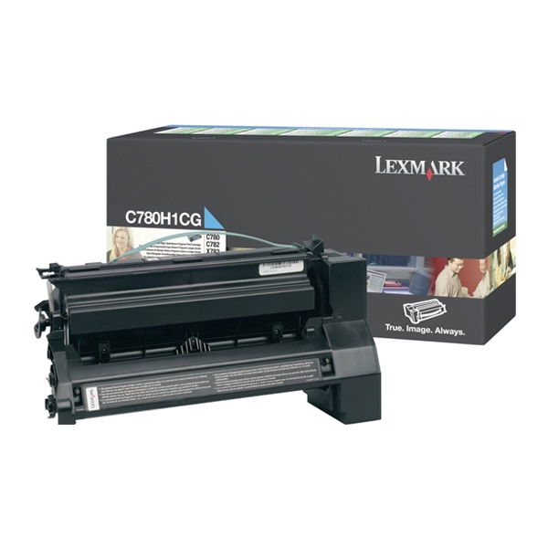 LEXMARK C780/782 HC CYAN TONER (10k) (C780H1CG) (LEXC780H1CG)