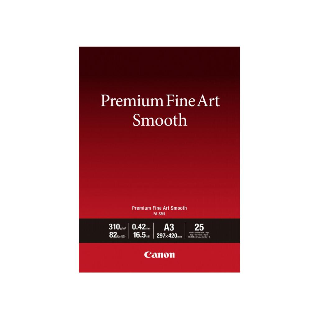 Φωτογραφικό Χαρτί FINE ART CANON A3 310 g/m²  25 Φύλλα (1711C003AA) (CAN-FA-A3)