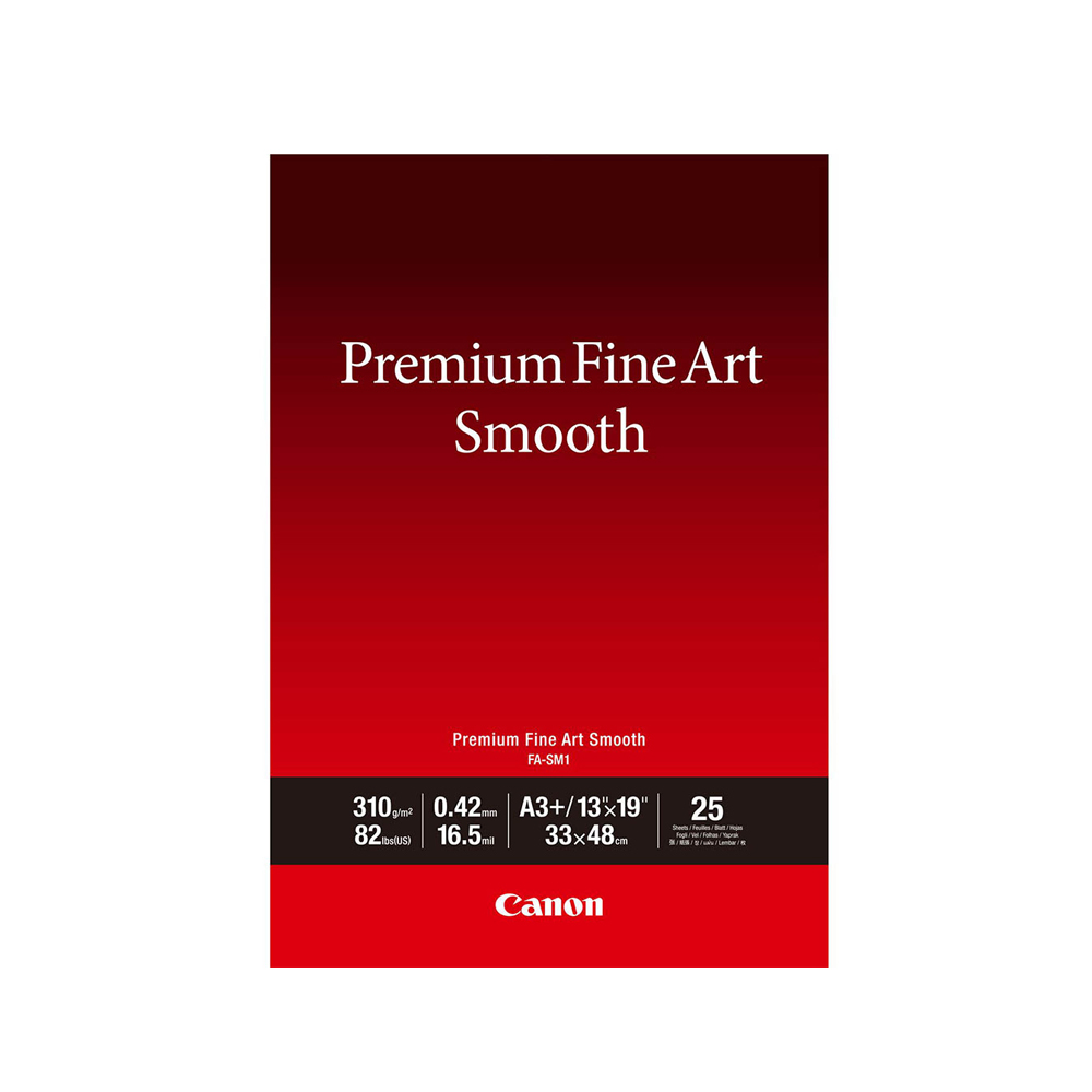 Φωτογραφικό Χαρτί FINE ART CANON A3+ 310 g/m² 25 Φύλλα (1711C004AA) (CAN-FA-A3P)