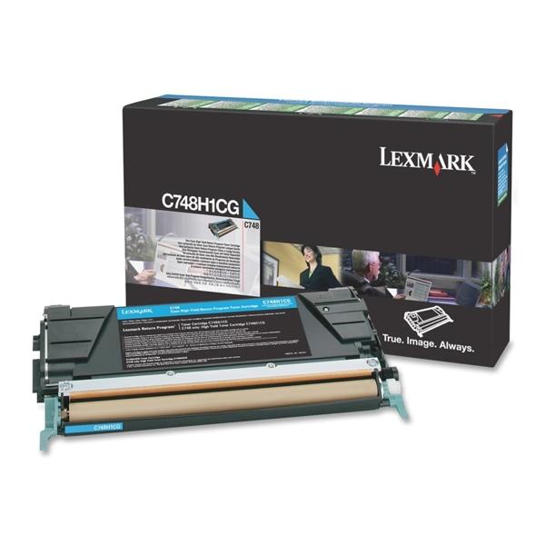 Toner Lexmark C748H1CG HC Cyan (C748H1CG) (LEXC748H1CG)