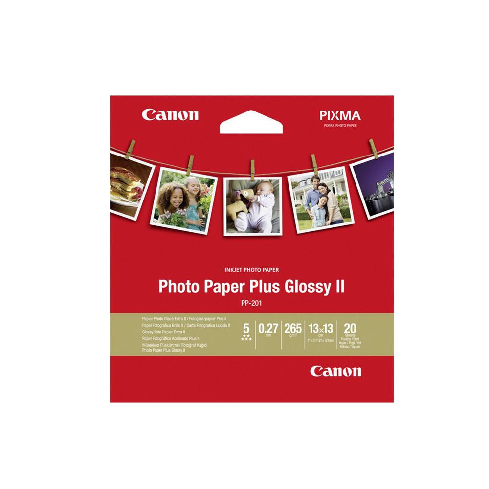 Φωτογραφικό Χαρτί CANON PP-201 5x5 inch 265 g/m²  20 Φύλλα (2311B060) (CAN-PP201-5)