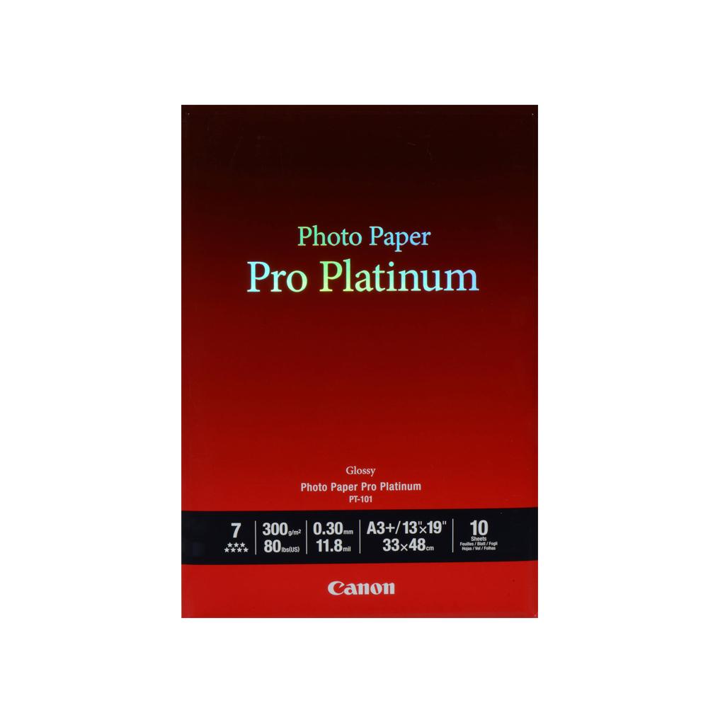 Φωτογραφικό Χαρτί Pro Platinum CANON A3+ 300g/m² Glossy 10 Φύλλα (2768B018) (CAN-PT-101-A3)