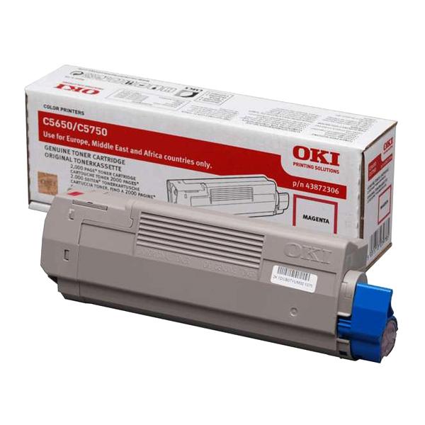 OKI C5650/C5750 TNR MAG. 2K (43872306) (OKI-5650-M)