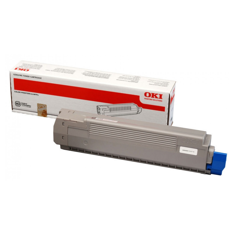 OKI C801/C821 TNR BLK 7K (44643004) (OKI-C801-B)