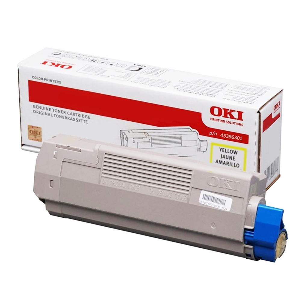 OKI MC760/70/80 TONER YELLOW 6K (45396301) (OKI-MC760-Y)