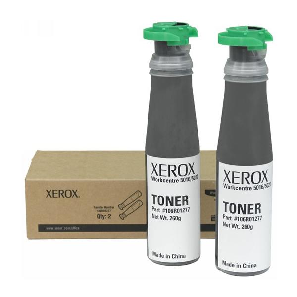 XEROX WC 5020/5016 TONER (2) (12.6k) (106R01277) (XER106R01277)