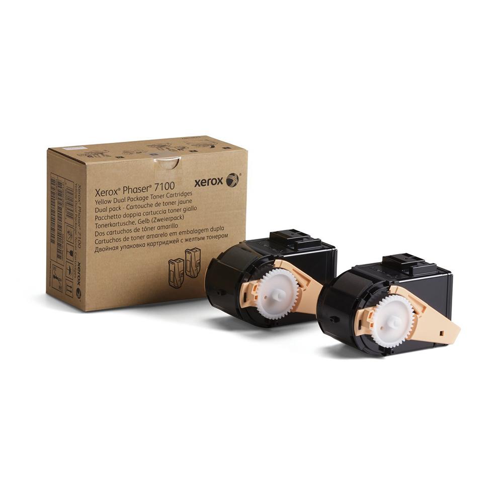 XEROX PHASER 7100 YELLOW HC TONER (9k) (106R02604) (XER106R02604)