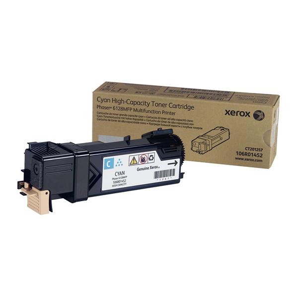XEROX PHASER 6128/MFP/MFPN CYAN TONER (106R01452) (XER106R01452)