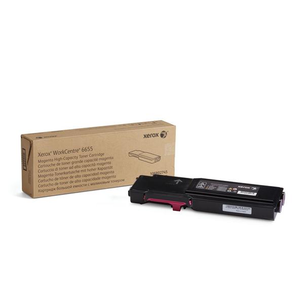 XEROX WC 6655 MAGENTA TONER (7.5k) (106R02745) (XER106R02745)