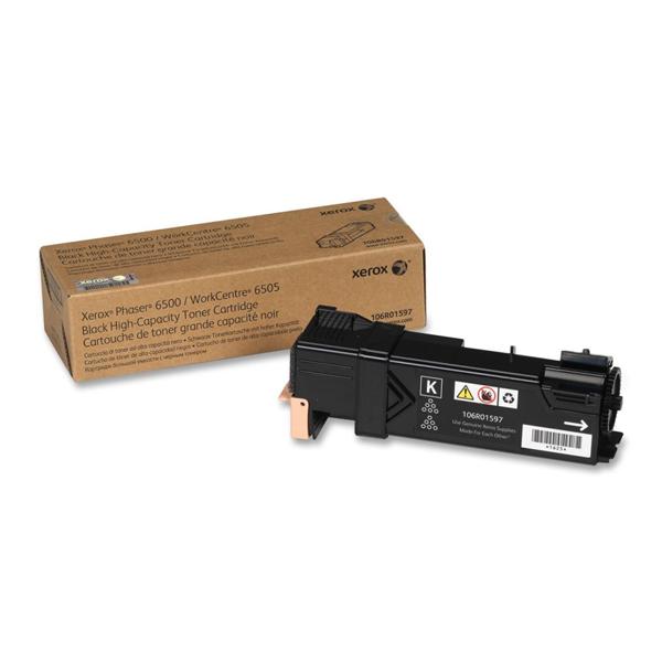XEROX PHASER 6500, WC 6505 BLK TONER (3k) (106R01597) (XER106R01597)