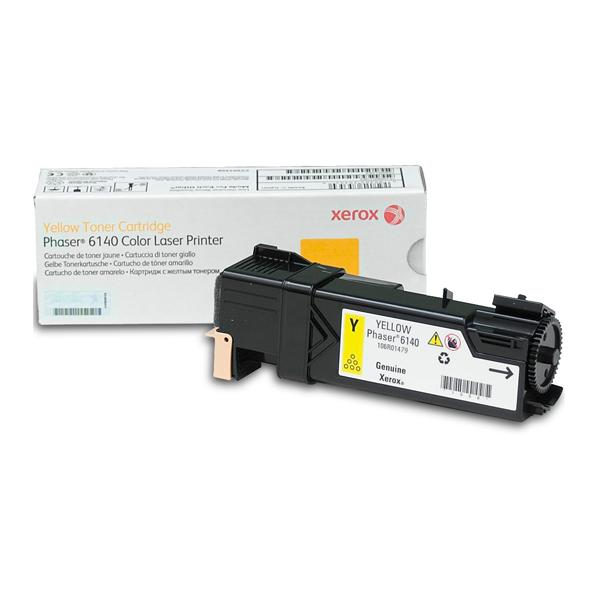 XEROX PHASER 6140/N/DN YELLOW TONER (2k) (106R01479) (XER106R01479)