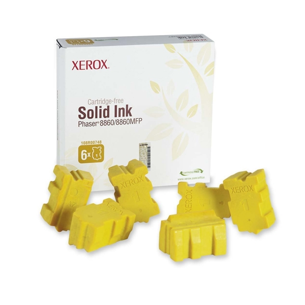 XEROX PHASER 8860/8860MFP YELLOW (108R00748) (XER108R00748)