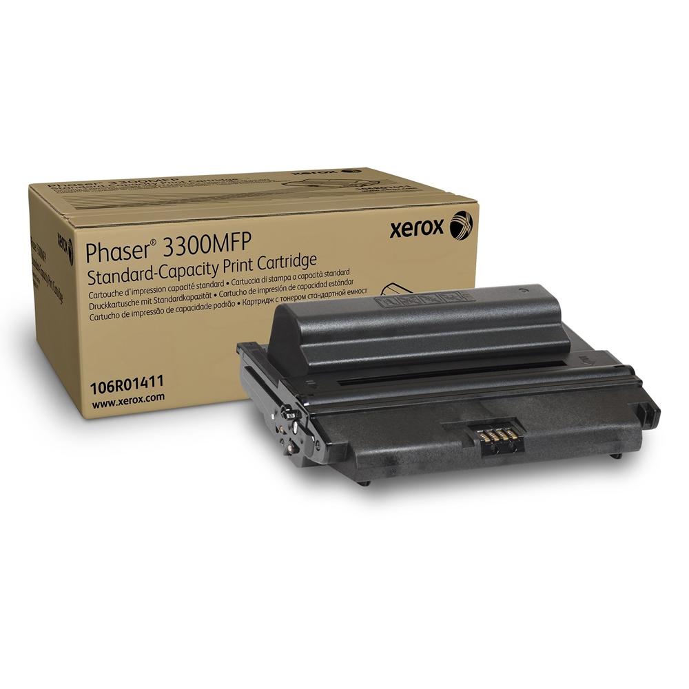 XEROX PHASER 3300MFP BLACK TONER (4k) (106R01411) (XER106R01411)