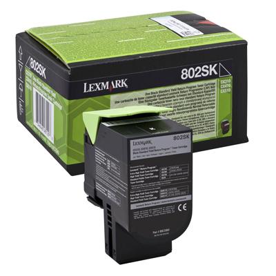 Toner Lexmark 80C2SK0 Black (80C2SK0) (LEX80C2SK0)