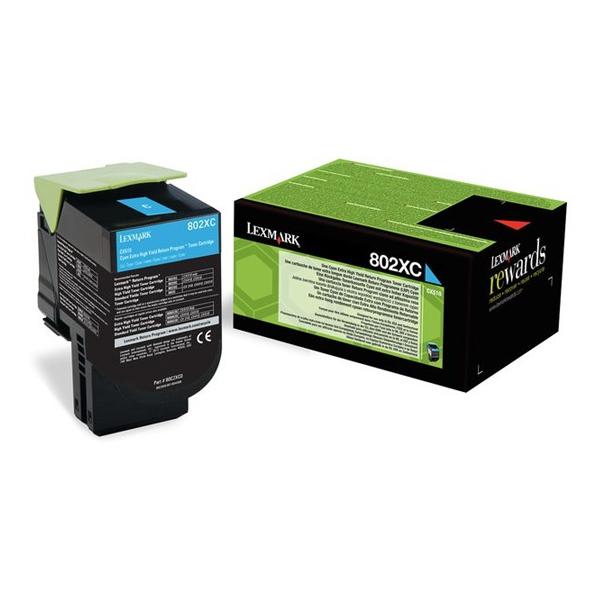 Toner Lexmark 80C2XC0 Cyan (80C2XC0) (LEX80C2XC0)