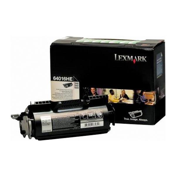LEXMARK T640/642/644 HC TONER (21K) (64016HE) (LEX64016HE)