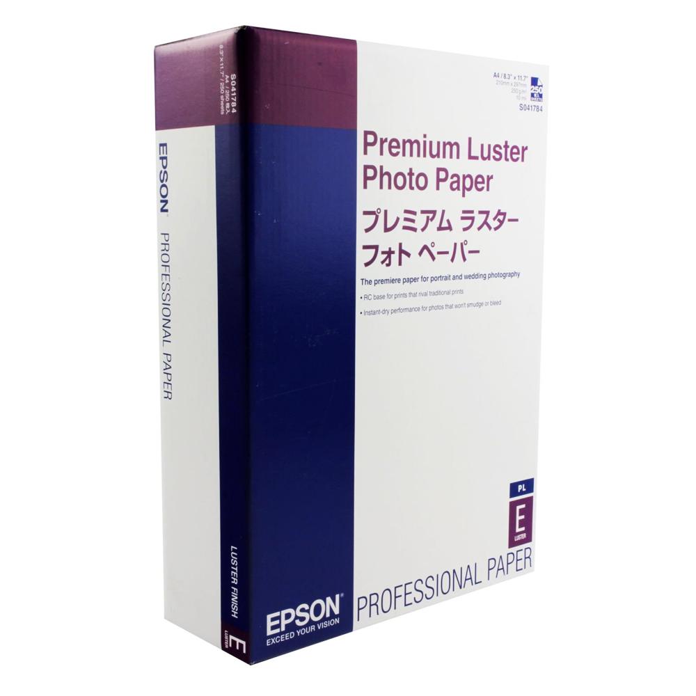 Φωτογραφικό Χαρτί EPSON  Luster A4 250 Φύλλα (C13S041784)