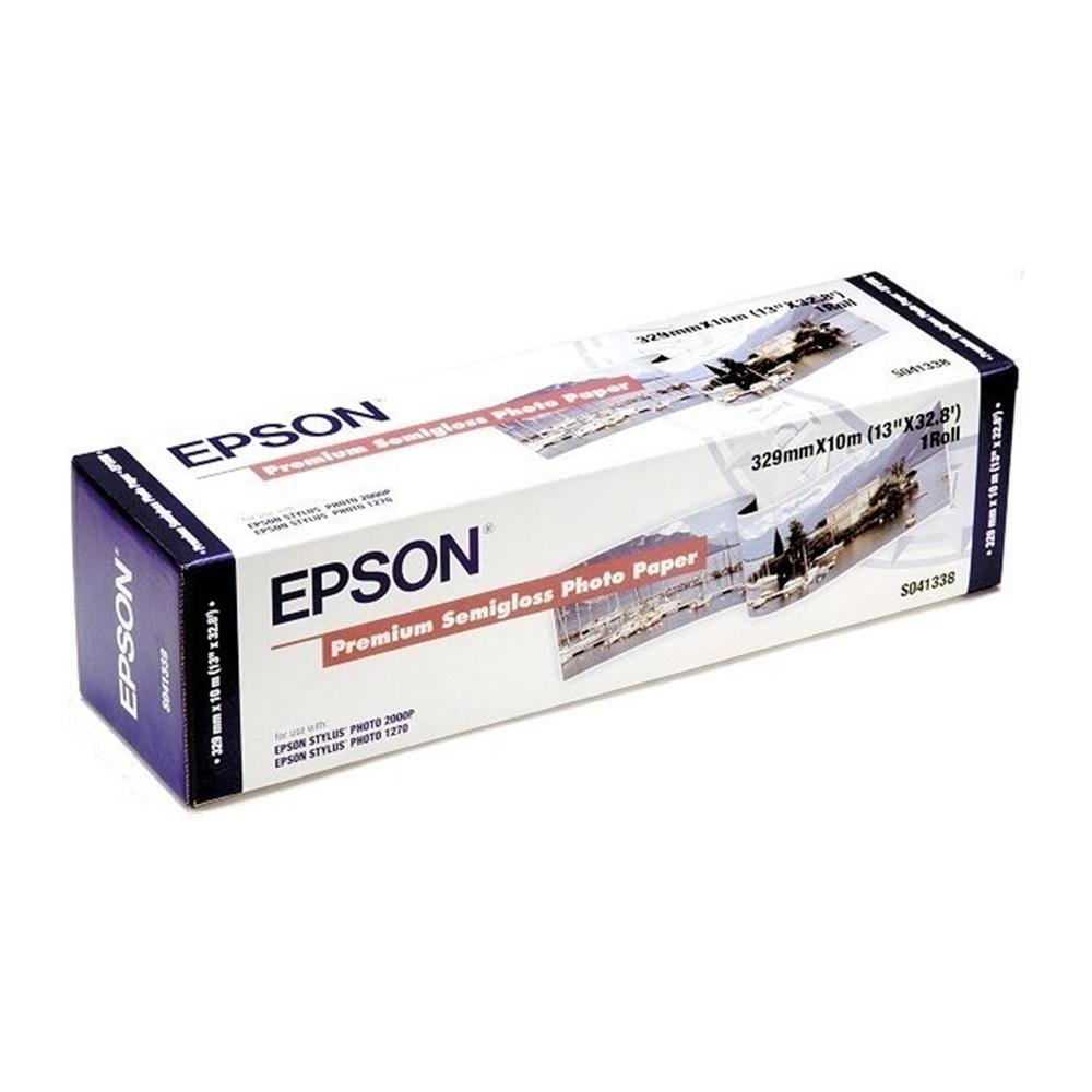 Φωτογραφικό Χαρτί EPSON Semi Gloss 250g/m²  13x10 m (C13S041338) (EPSS041338)