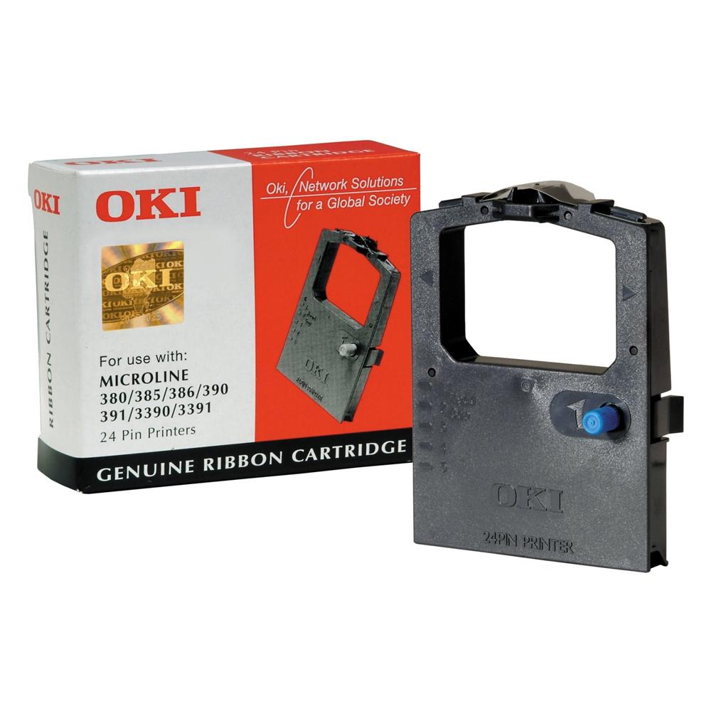 OKI 300 series-24 Pin BLK (09002309) (OKI-ML-380)