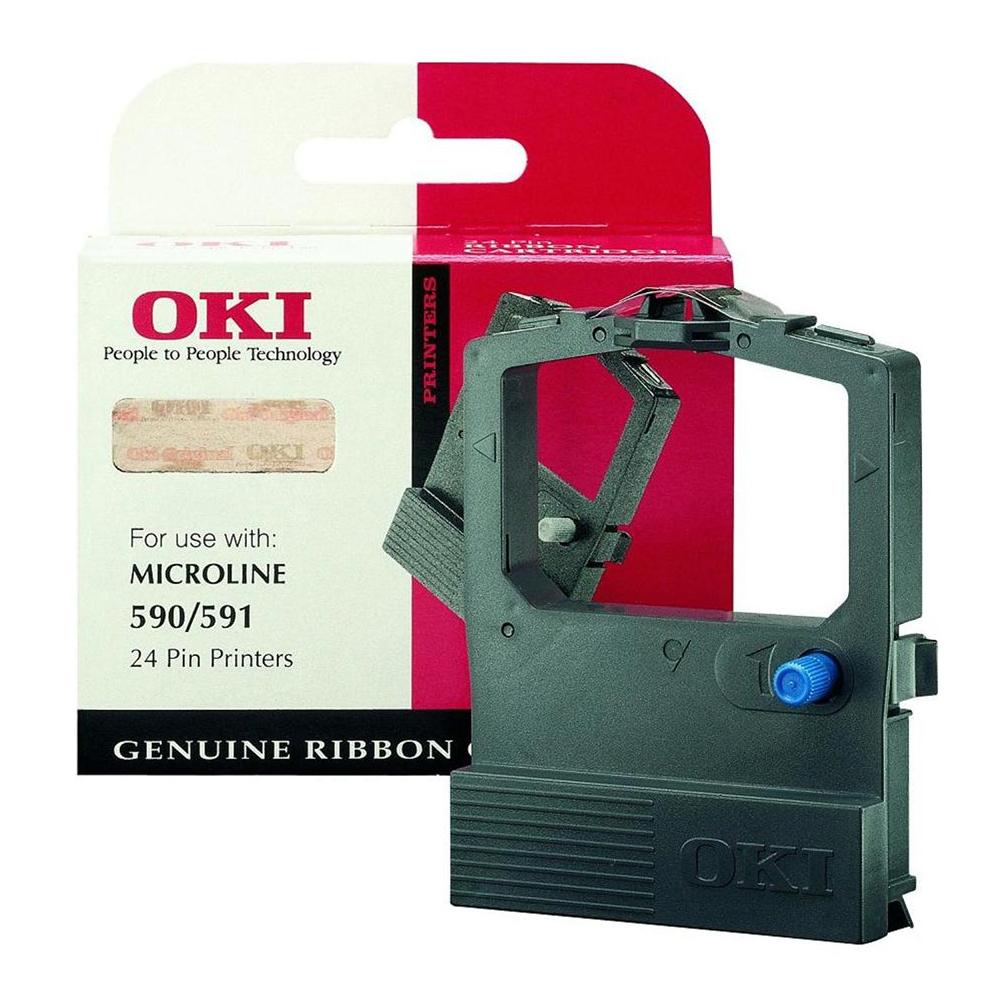 OKI ML 590B BLACK (09002316) (OKI-ML-590)