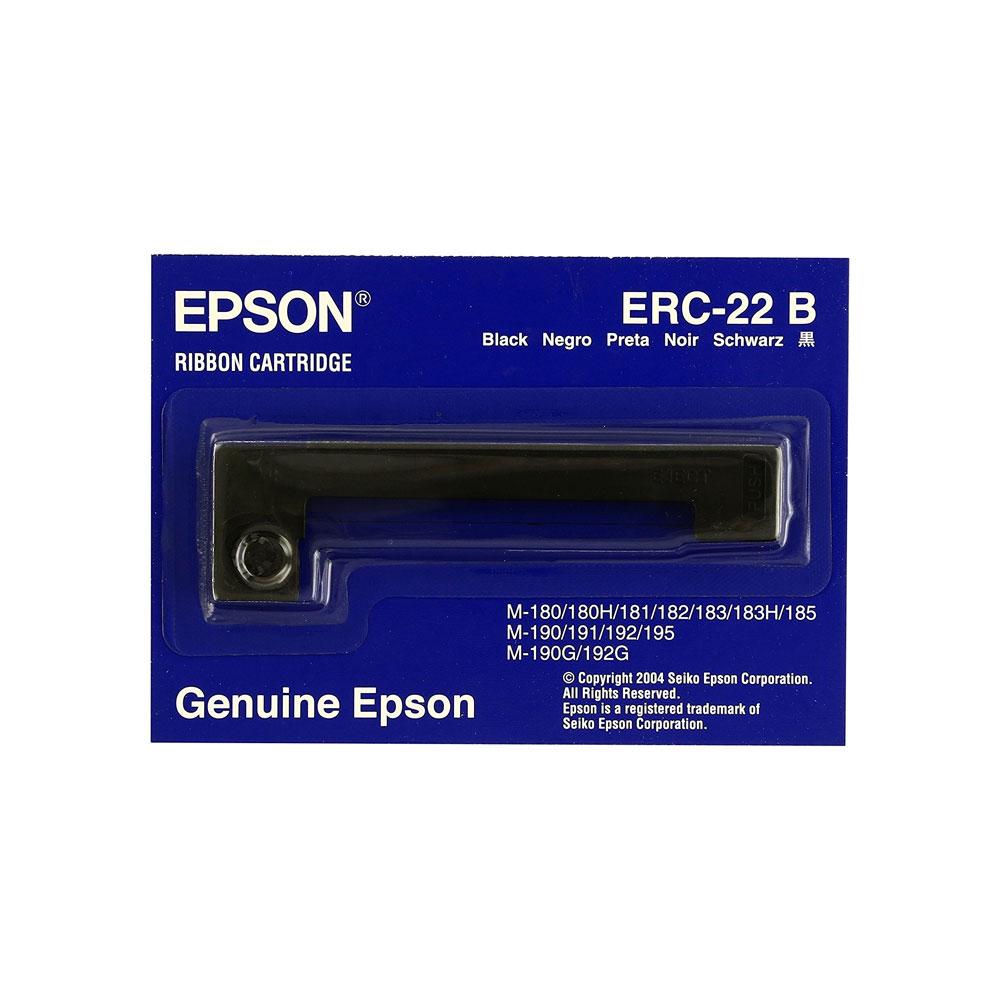EPSON ERC-22 BLACK (C43S015358/15204) (EPSERC-22B)