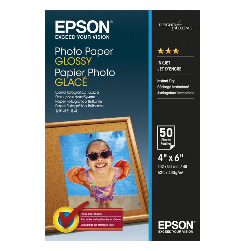 Φωτογραφικό Χαρτί EPSON Value Glossy 10x15cm 183 g/m² 100 Φύλλα (C13S400039) (EPSS400039)