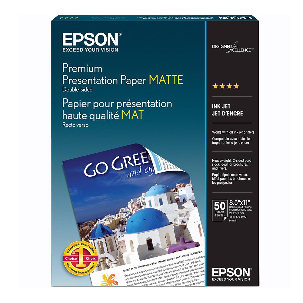 Φωτογραφικό Χαρτί EPSON Double-Sided Photo Quality A4 140 g/m² 50 Φύλλα (C13S400059) (EPSS400059)