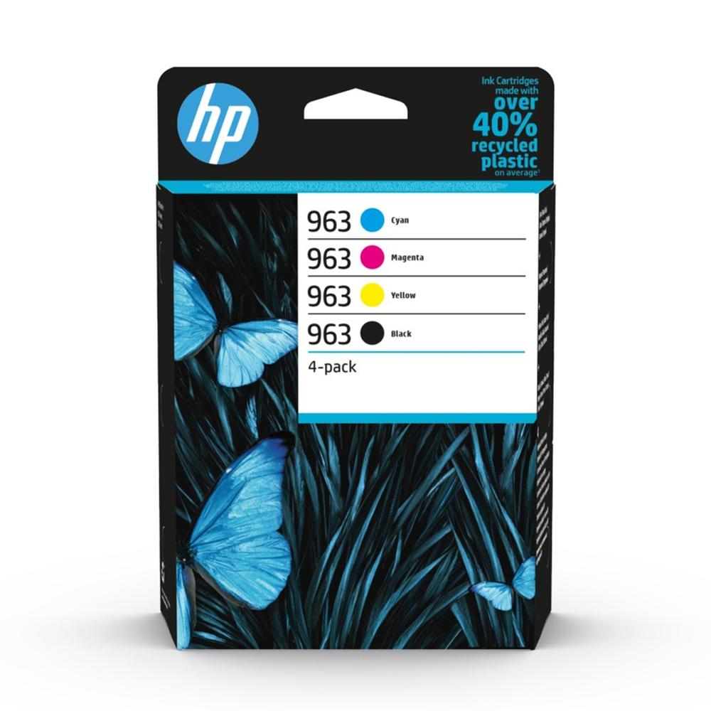 HP Μελάνι Inkjet 963 4-Pack CMYK (6ZC70AE) (HP6ZC70AE)