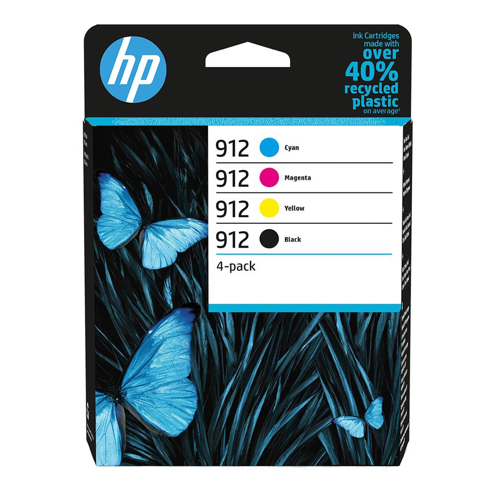 HP Μελάνι Inkjet 912 4-Pack CMYK (6ZC74AE) (HP6ZC74AE)