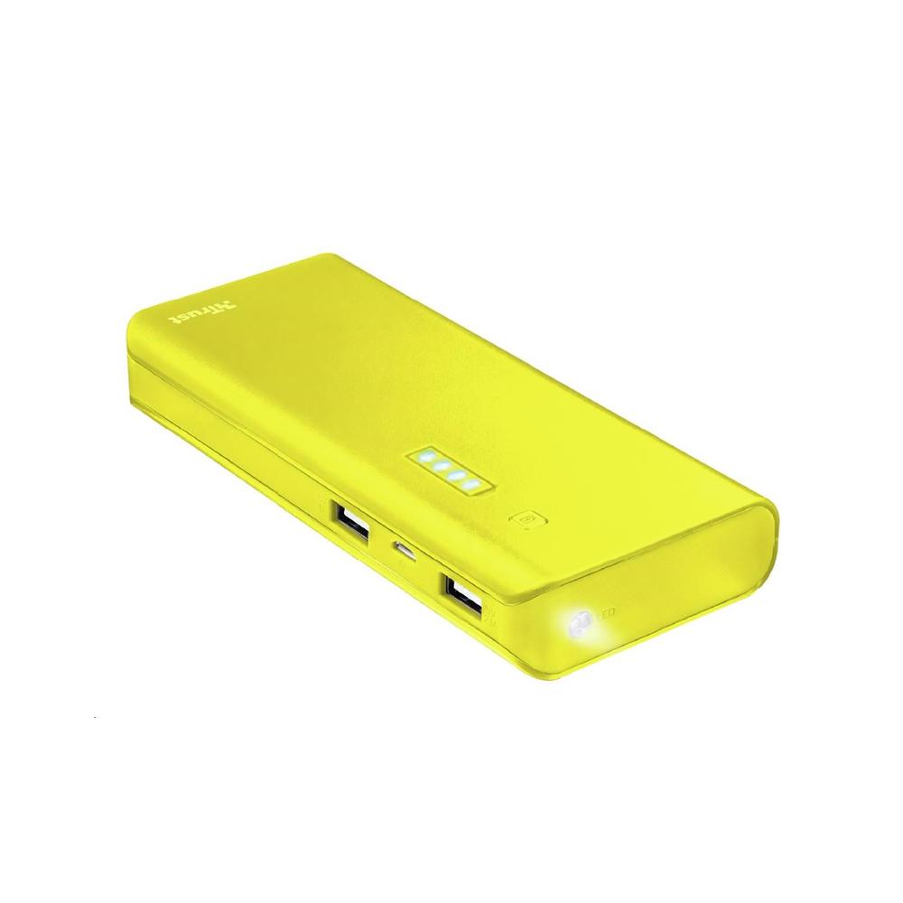 Trust Primo Powerbank 10.000 mAh - yellow (22753) (TRS22753)