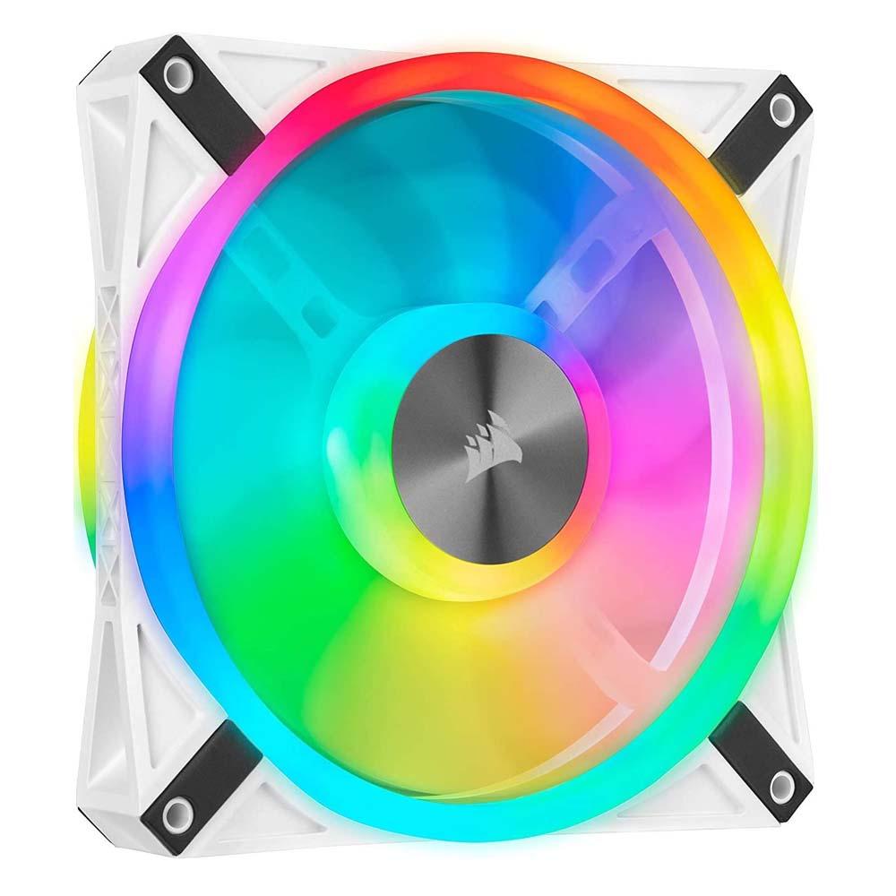 Corsair iCUE QL140 RGB 140mm PWM White Single Fan (CO-9050105-WW) (CORCO-9050105-WW)