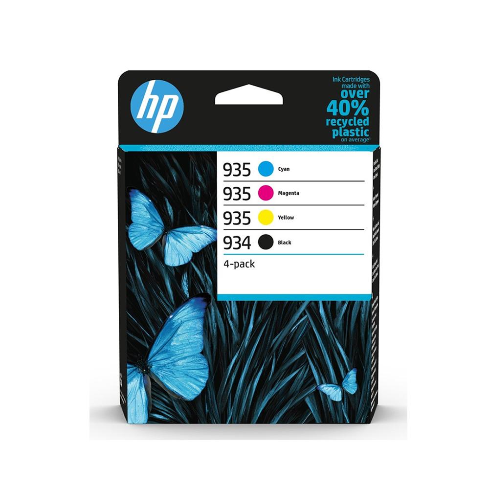 HP Μελάνι Inkjet 934/935 4-Pack Black/CMY (6ZC72AE) (HP6ZC72AE)