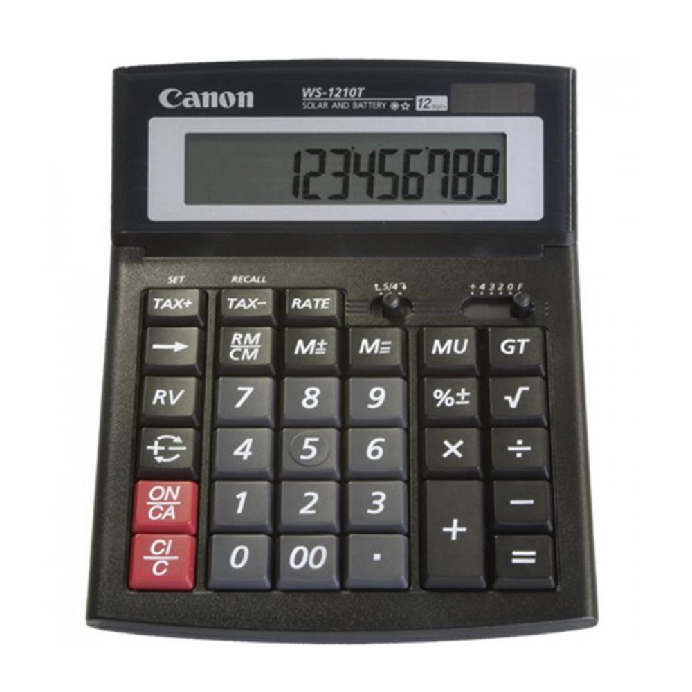CANON WS-1210T CALCULATOR (0694B001AC) (CANWS1210T)