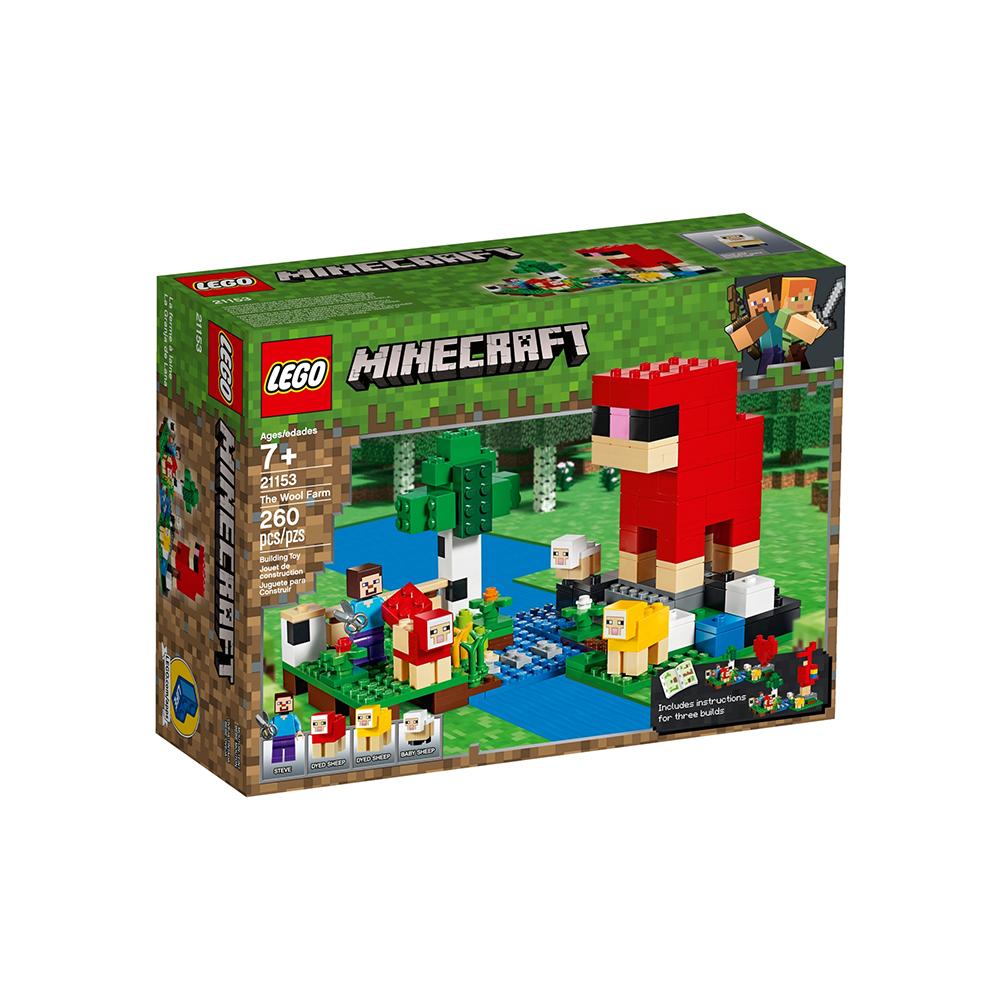Lego Minecraft: The Wool Farm (21153) (LGO21153)