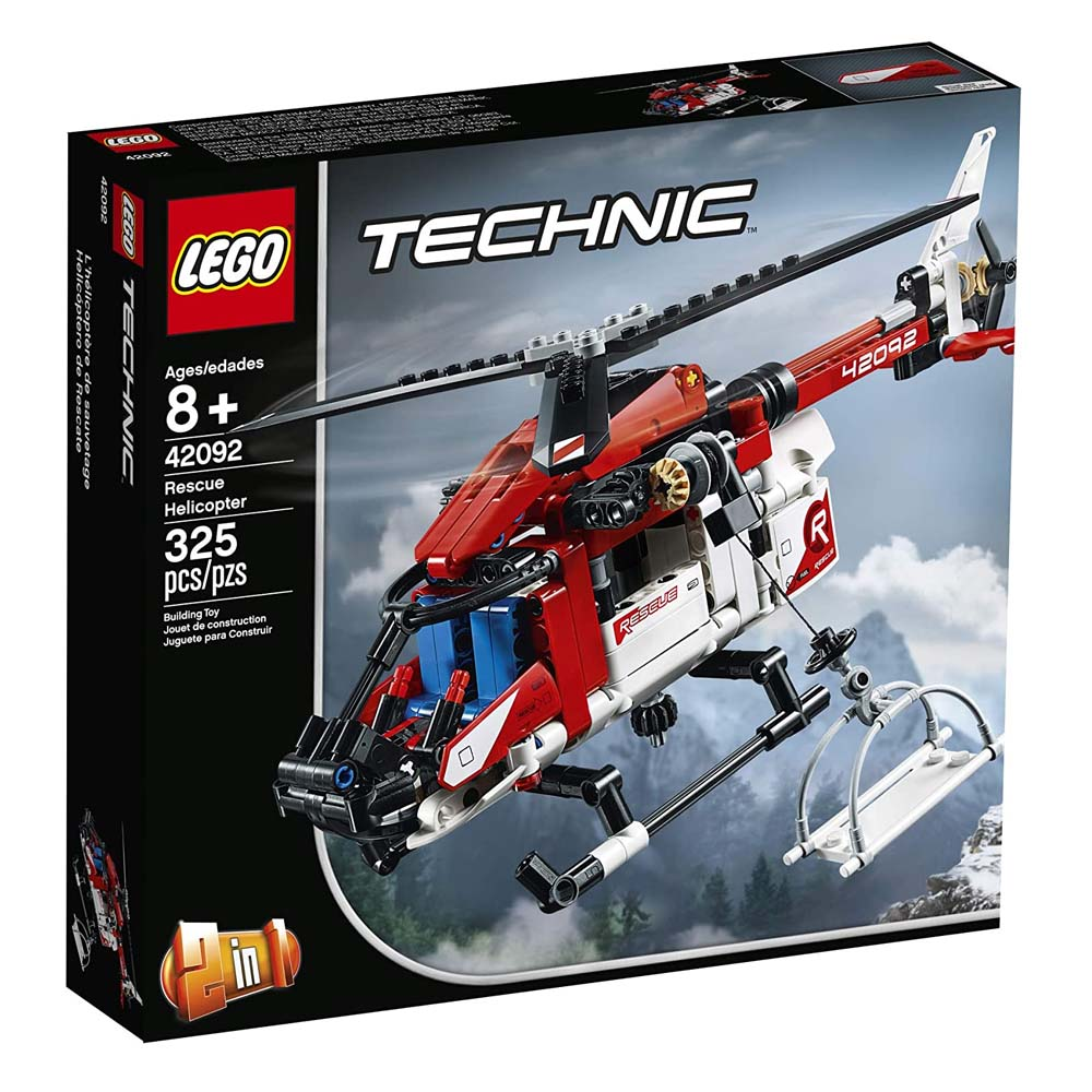 Lego Technic: Rescue Helicopter (42092) (LGO42092)