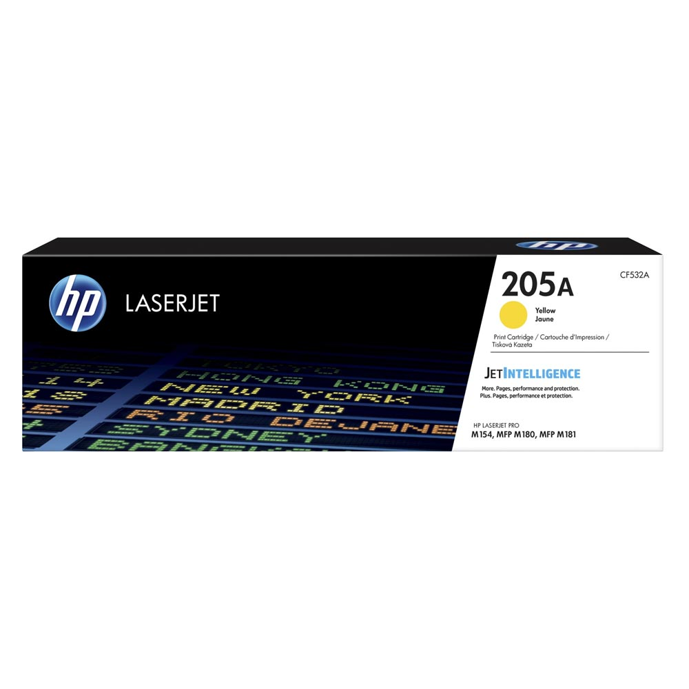 HP 205A LaserJet Yellow Toner (900k) (CF532A) (HPCF532A)