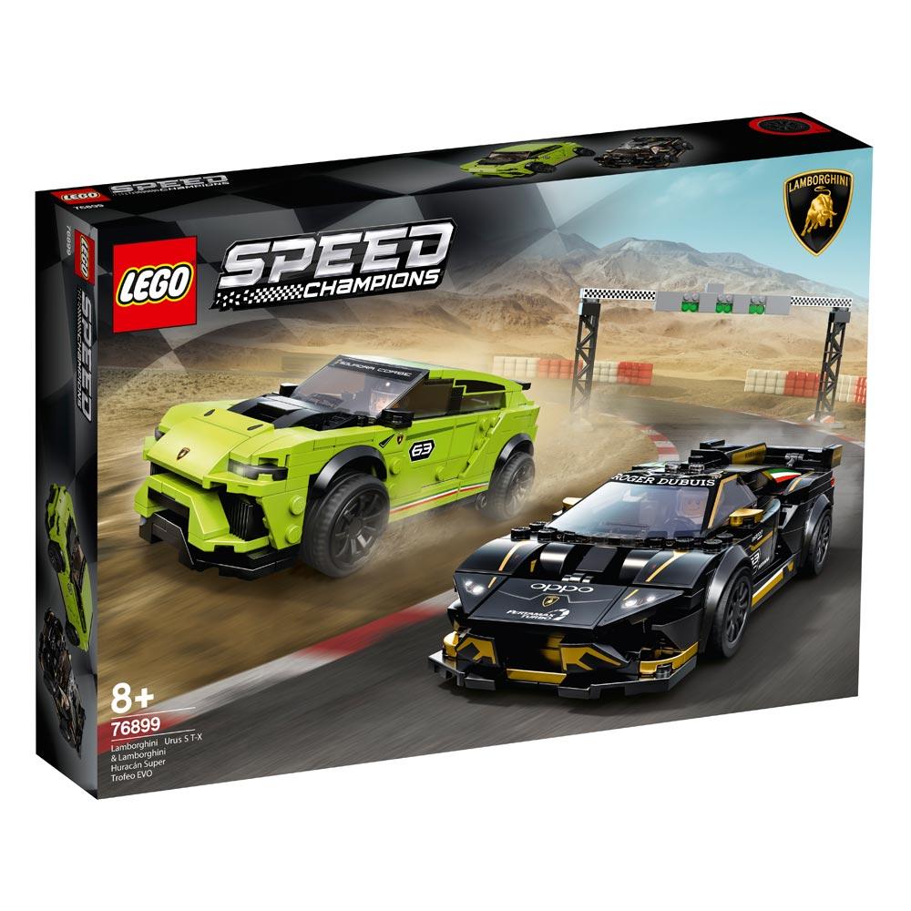 Lego Speed Champions: Lamborghini Urus ST-X & Lamborghini Huracan Super Trofeo Evo (76899)