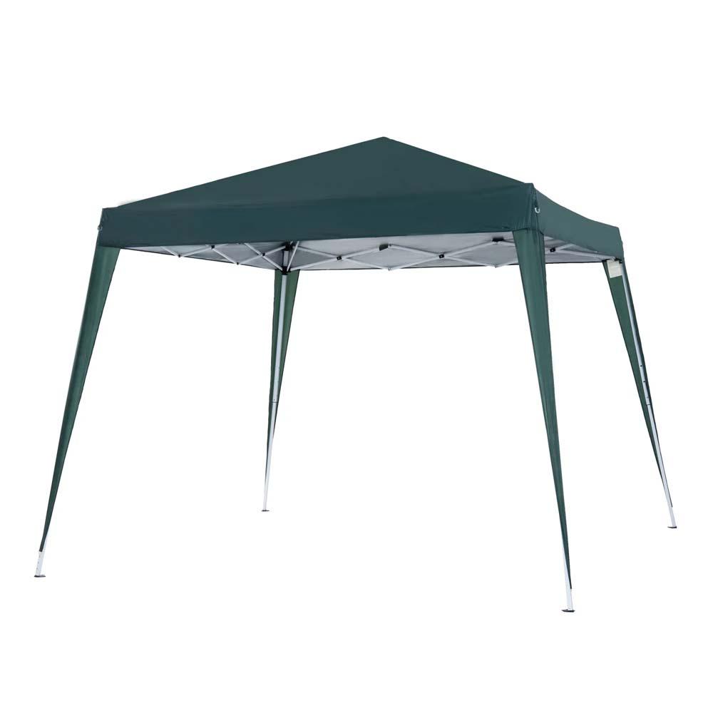 Κιόσκι Κήπου Outsunny Folding Garden Gazebo 3x3m Steel and Polyester, Green(840-159GN) (OUT840-159GN)