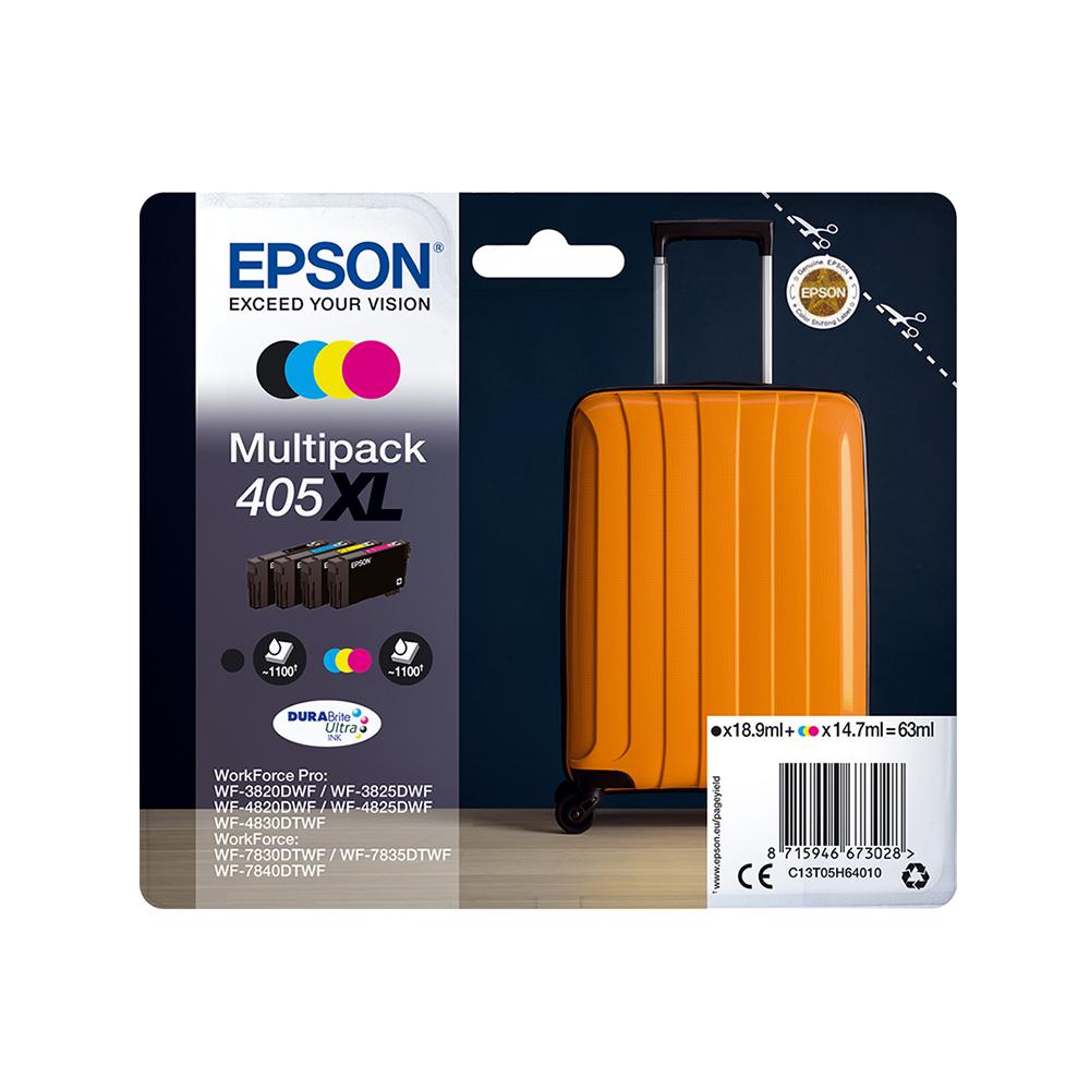 Epson Μελάνι Inkjet 405XL Multipack (C13T05H64010) (EPST05H640)