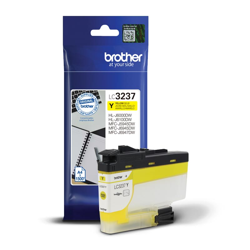 Brother Μελάνι Inkjet LC-3237Y Yellow (LC-3237Y) (BRO-LC-3237Y)
