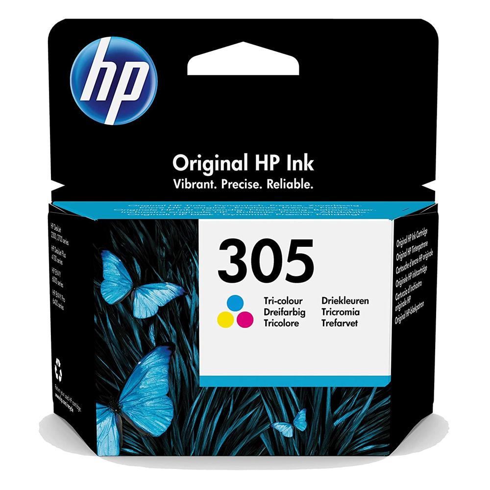 HP Μελάνι Inkjet No.305 Tri-Colour (3YM60AE) (HP3YM60AE)