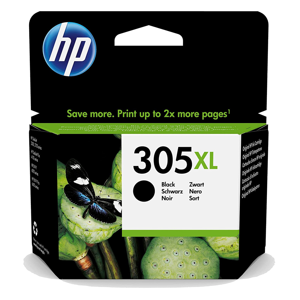 HP Μελάνι Inkjet No.305XL Black (3YM62AE) (HP3YM62AE)