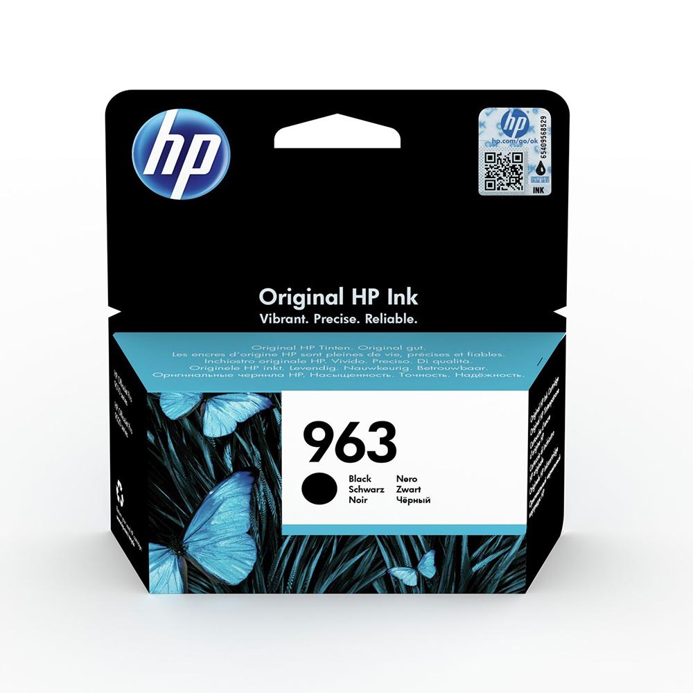 HP Μελάνι Inkjet No.963 Black (3JA26AE) (HP3JA26AE)