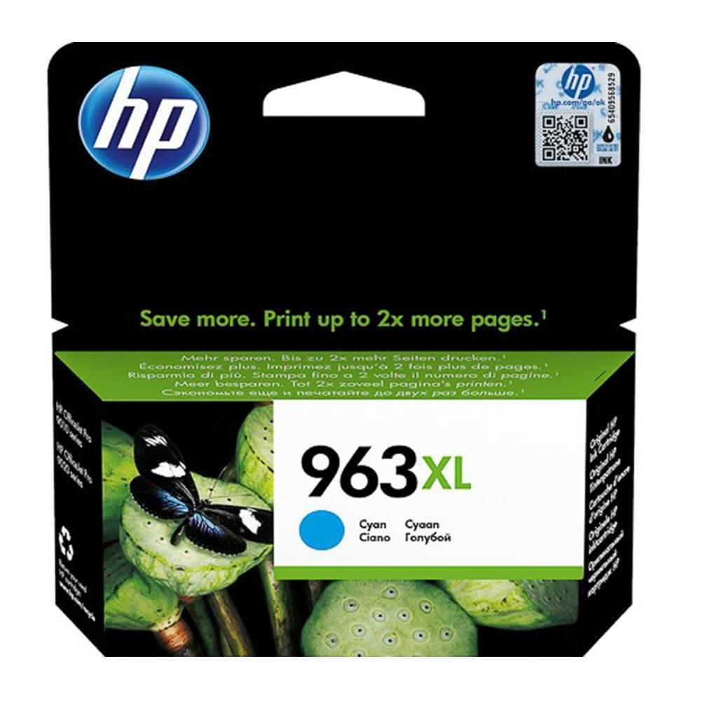 HP Μελάνι Inkjet No.963XL HC Cyan (3JA27AE) (HP3JA27AE)